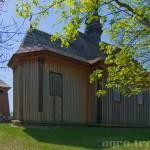 Tokarnia, kościół z Rogowa, dzwonnica z Kazimierzy Wielkiej