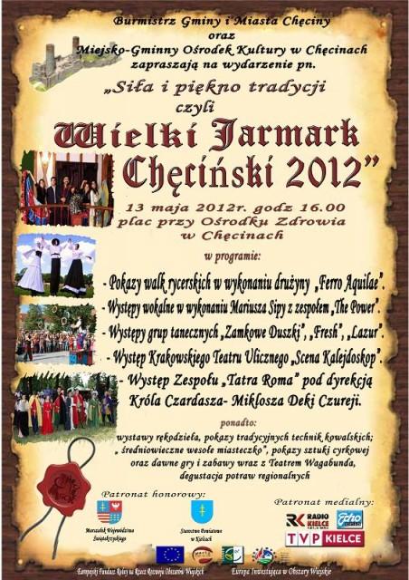Wielki Jarmark Chęciński 2012 @ Chęciny | Chęciny | świętokrzyskie | Polska